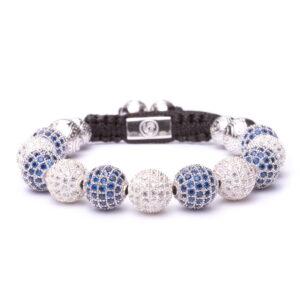 Браслет Шамбала Karma Jewels из серебра KK-10
