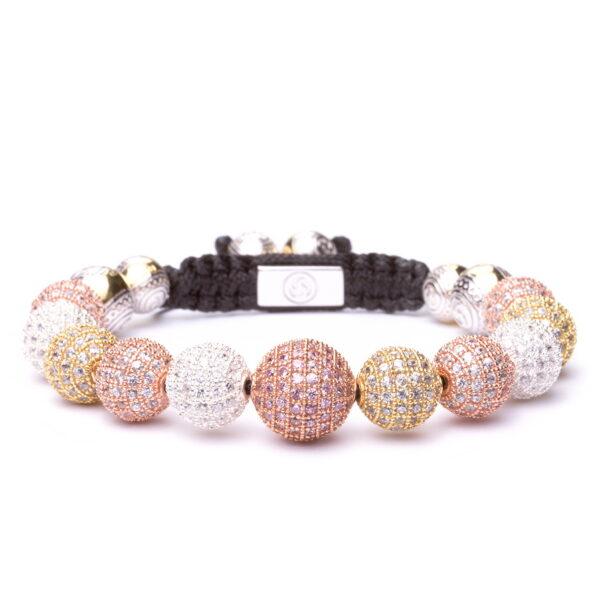 Браслет Шамбала Karma Jewels из серебра KK-11